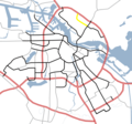 Amsterdam Outline S Roads  S117 - Mapsof.net