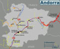 Andorra Map 1 - Mapsof.Net Map