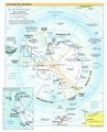 Antarctic Region - Mapsof.Net Map