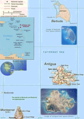 Antigua Barbuda - Mapsof.Net Map