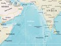 Arabian Sea Physical - Mapsof.net