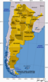 Argentina  Map  Provinces With Names - Mapsof.Net Map