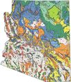 Arizona Geologic Map - Mapsof.Net Map