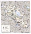 Armenia Physical Map - Mapsof.net