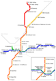 Atlanta Metro Map - Mapsof.Net Map