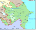 Azerbaijan Map - Mapsof.Net Map