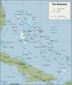 Bahamas Political Map - Mapsof.net