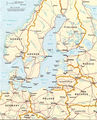 Baltic Sea Map - Mapsof.Net Map