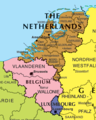 Benelux Map - Mapsof.Net Map