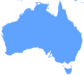 Blank Map of Australia - Mapsof.Net Map