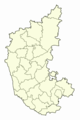 Blank Map of Karnataka - Mapsof.Net Map