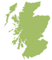 Blank Map of Scotland - Mapsof.Net Map