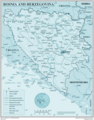 Bosnia - Mapsof.Net Map