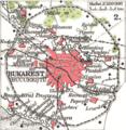 Bukarest 1911 - Mapsof.Net Map
