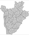 Burundi Collines - Mapsof.Net Map