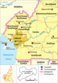 Cameroon Map Political Littoral - Mapsof.net