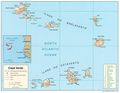 Cape Verde Map - Mapsof.Net Map