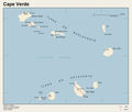 Cape Verde Map 2 - Mapsof.Net Map