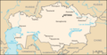 Carte Kazakhstan - Mapsof.Net Map