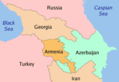 Caucasus Countries 1 - Mapsof.net