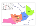 Central Zambia Districts - Mapsof.net