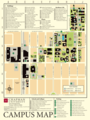 Chapman University Campus Map - Mapsof.net