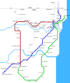 Chennai Metro Map - Mapsof.Net Map