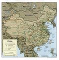 China Relief 2001 - Mapsof.net