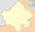 Cities Blank Map of Rajasthan - Mapsof.Net Map