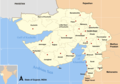 Cities Map of Gujarat - Mapsof.Net Map