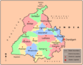 Cities Map of Punjab - Mapsof.Net Map