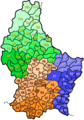 Communes of Luxembourg - Mapsof.net