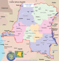 Congo Political Map - Mapsof.net