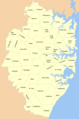 Counties Map of Sydney - Mapsof.Net Map