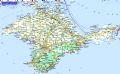 Crimean Peninsula - Mapsof.Net Map