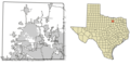 Denton County Texas Incorporated Areas - Mapsof.net