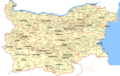 Detailed Map of Bulgaria - Mapsof.Net Map