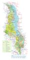 Detailed Map of Malawi - Mapsof.Net Map