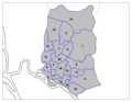 Dhaka Districts - Mapsof.Net Map