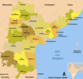 Districts Map of Andhra Pradesh - Mapsof.Net Map
