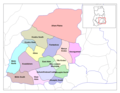 Eastern Ghana Districts - Mapsof.net