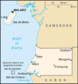 Equatorial Guinea Cia Wfb Map - Mapsof.Net Map