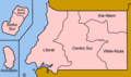 Equatorial Guinea Provinces Named - Mapsof.Net Map