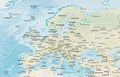 Europe Physical Map - Mapsof.Net Map