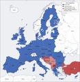 European Union Map - Mapsof.Net Map
