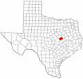 Falls County Texas - Mapsof.Net Map
