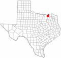 Fannin County Texas - Mapsof.Net Map