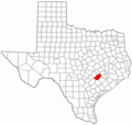 Fayette County Texas - Mapsof.Net Map