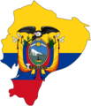 Flag Map of Ecuador - Mapsof.net