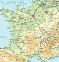 France Rail Map - Mapsof.Net Map